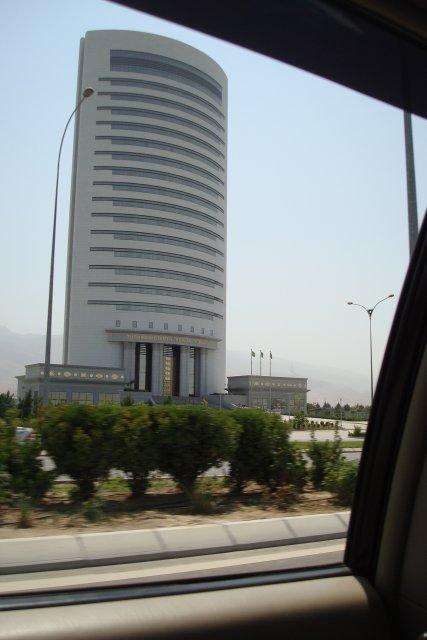 Здание ГАЗПРОМА, Ашхабад