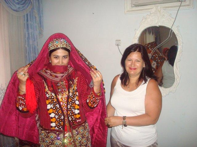 Невеста в курте, Ашхабад