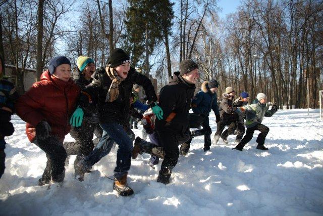 Наш зимний отряд особого назначения