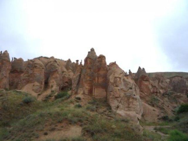 Пейзаж в Каппадокии