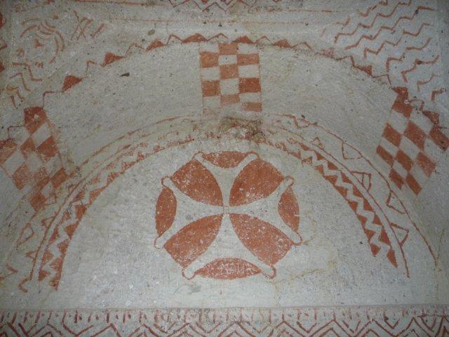 Древнехристианский крест.