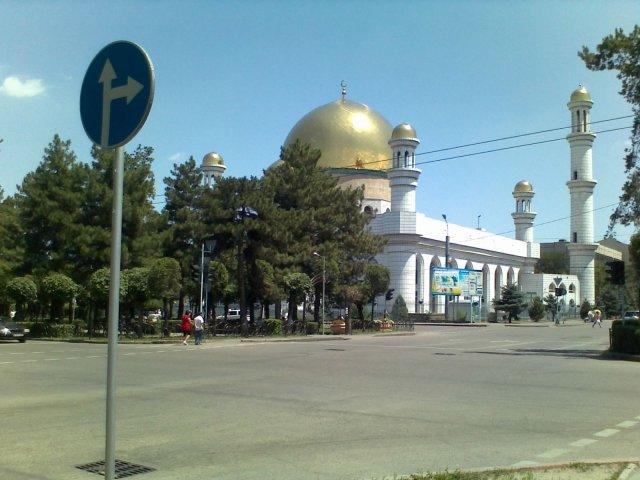 Мечеть в Центре Алматы