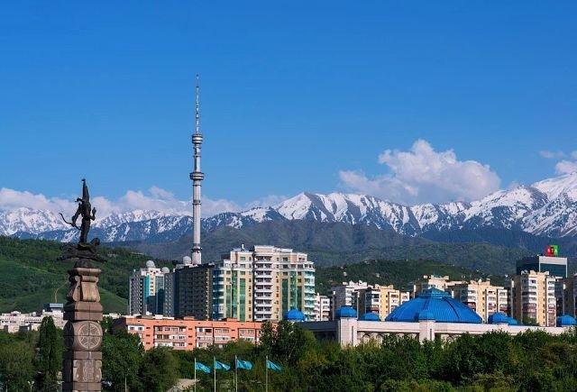 Южная Столица Казахстана.  Алматы. Горы.
