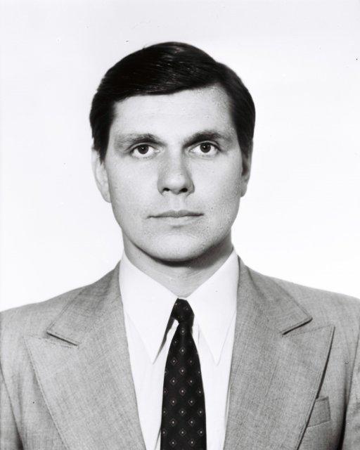 Фото Николая Ващилина на выездное дело в капстрану из СССР.1982