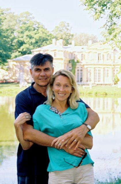 Николай Ващилин со спутницей Мариной.1999