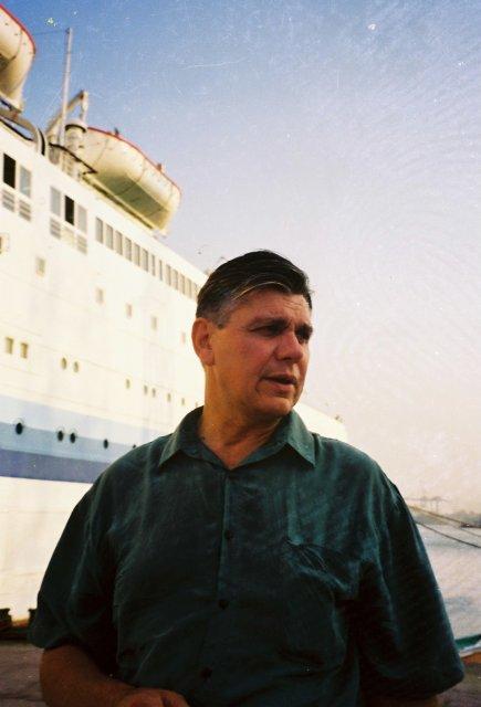 Перед отплытием в Израиль
