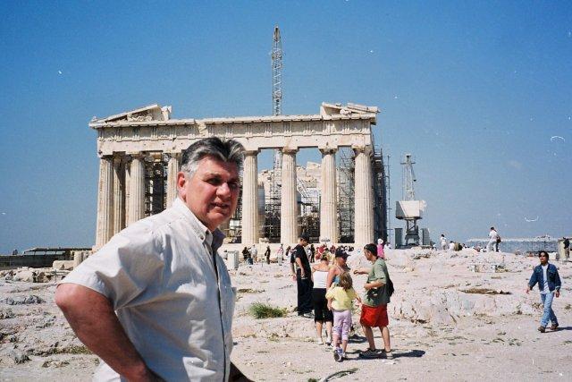 Афины.Час на самолёте или ночь на пароме с Крита