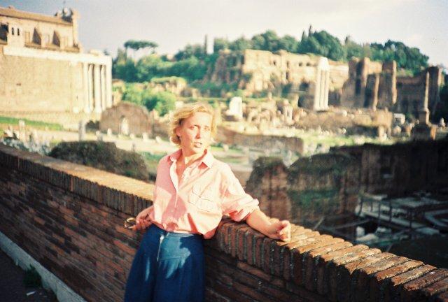 Развалины древнего Рима