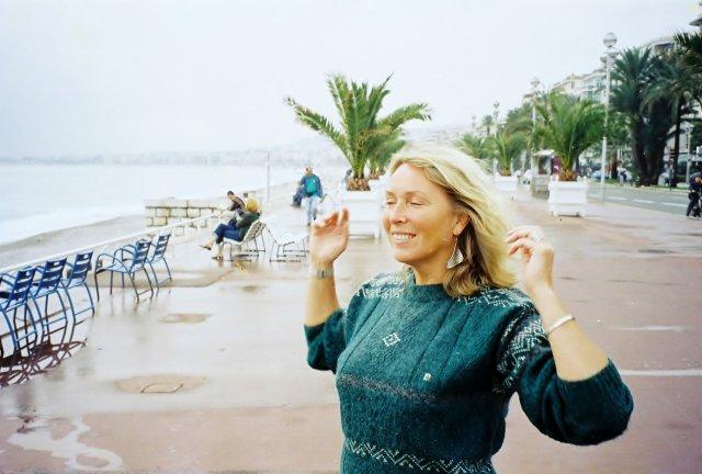 На Английской набережной в Ницце. 2001