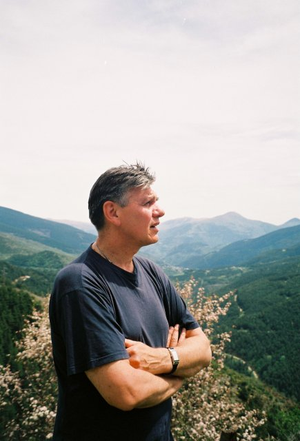 В горах на пути в Андору