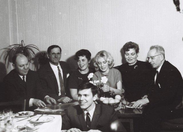Возвращение из за границы СССР с пдарками.1970