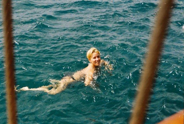 В море на яхте