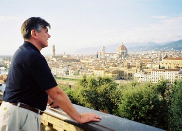 Николай Ващилин во Флоренции.2002