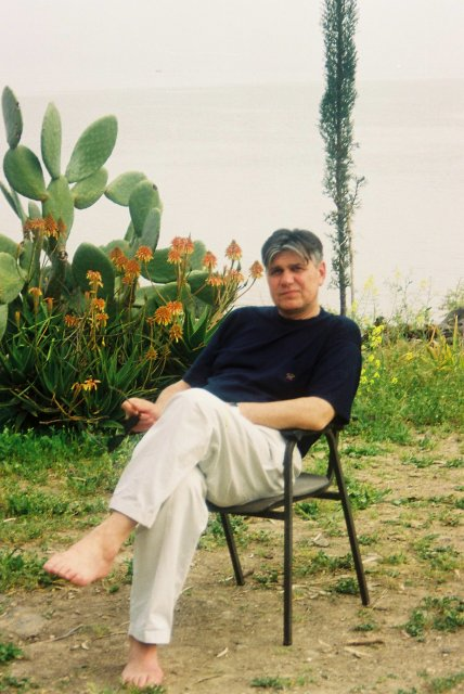 На берегу Галилейского моря.2000