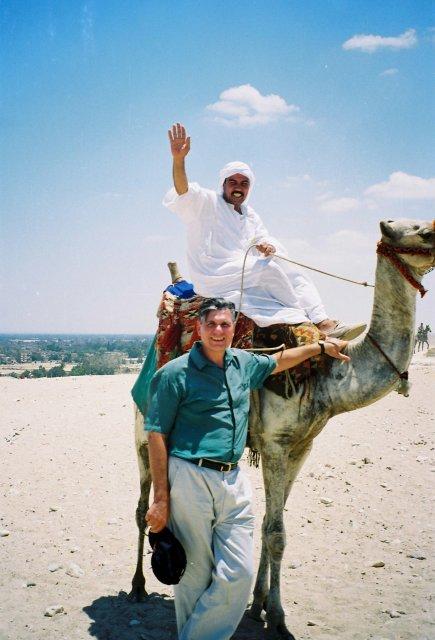 Встреча в пустыне с  египтологом