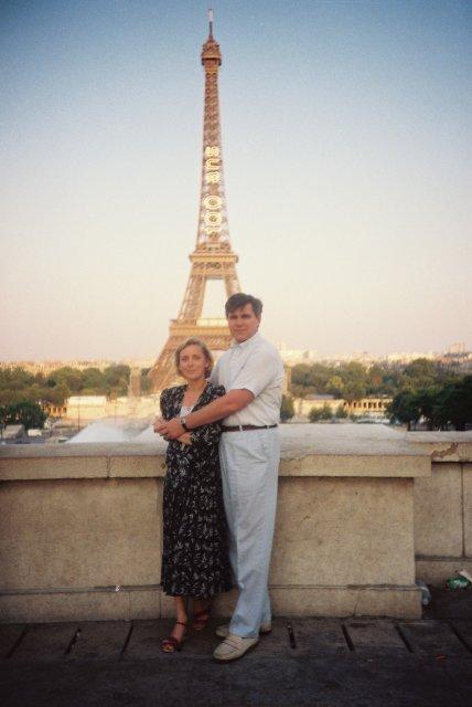 100 летие Эйфелевой башни
