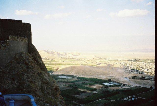 В горах Иерихона