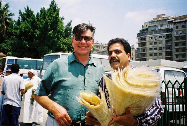 Продавец папируса в Каире