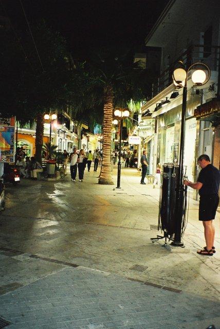 Вечерком на улицах Торовьехо.