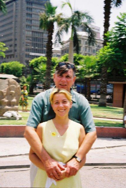 Возле музея в Каире