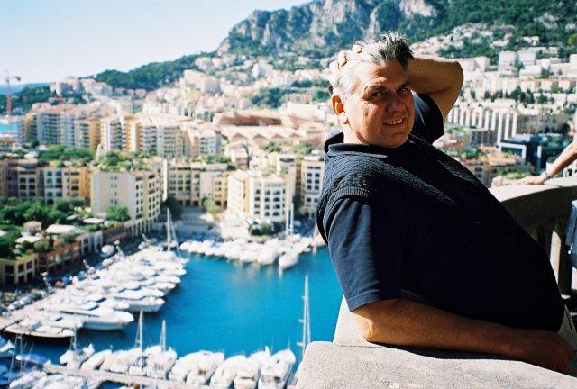 Николай Ващилин в Монте-Карло