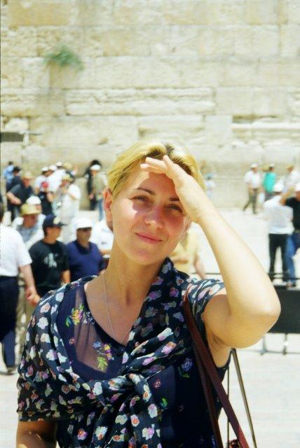 У  Стены Плача в Иерусалиме