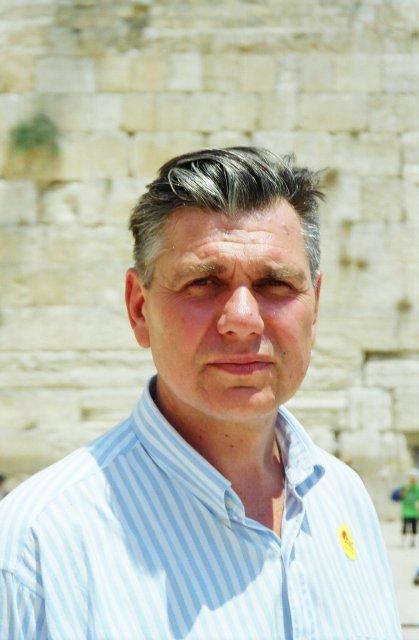 У Стены Плача в Иерусалиме.1997