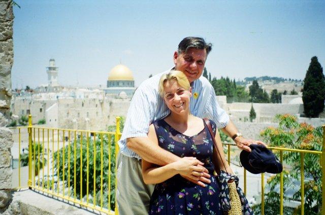 Вид на мечеть в Иерусалиме