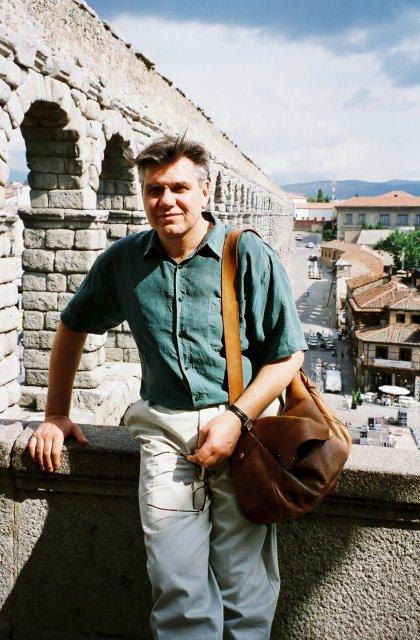 Николай Ващилин в Сеговии.1995