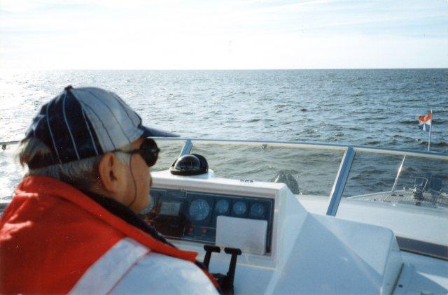 С Никитой на морской прогулке