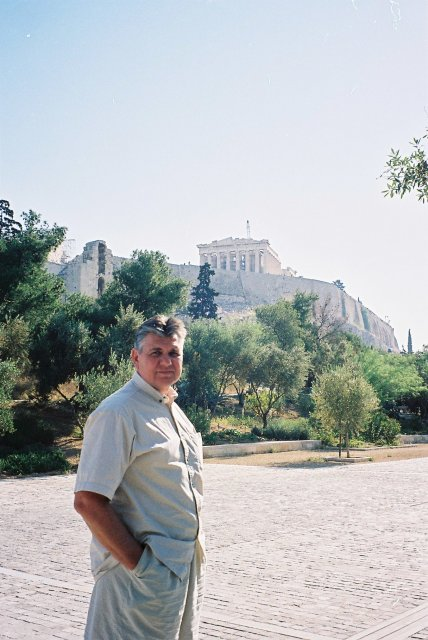 Николай Ващилин в Афинах