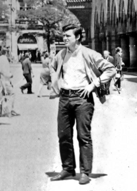 Николай Ващилин за границей. 1970