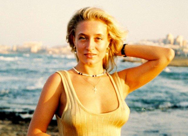 Алиса на пляже Торовьехо.1995