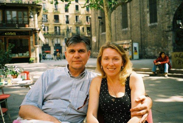 В кафе Барселоны