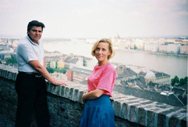 Николай Ващилин в Будапеште. 1979