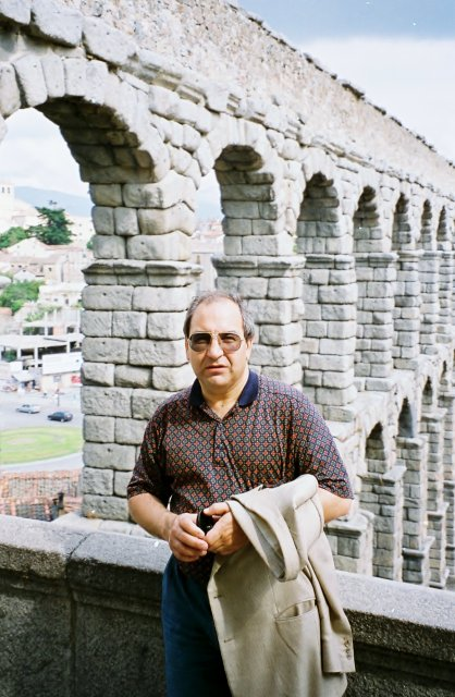 Миша Синягин в Сеговии.1995