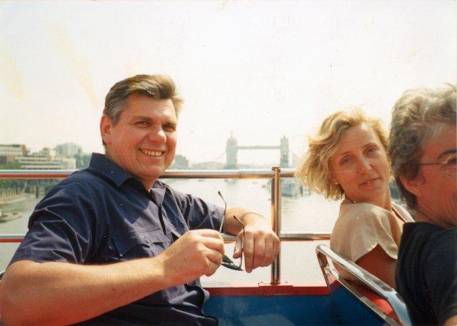 С Сильвией на экскурсии по Лондону