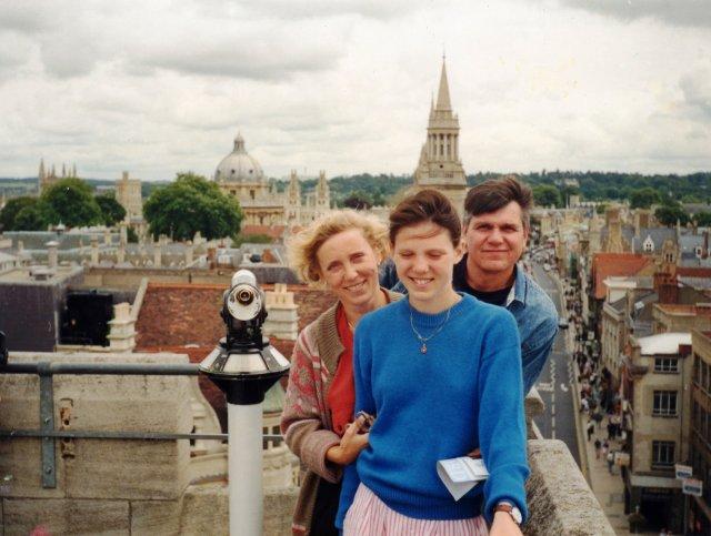 Вид Оксфорда с высоты