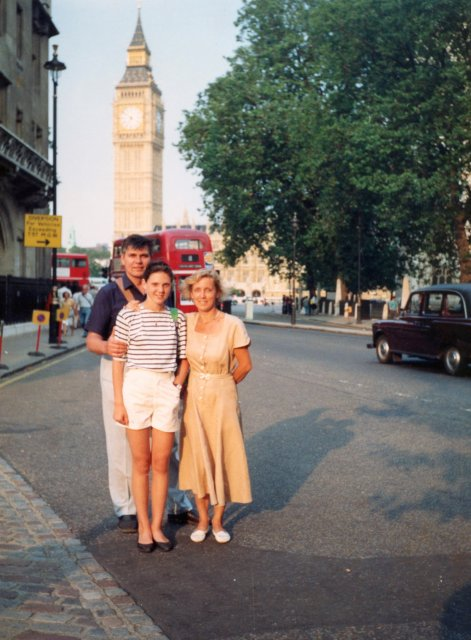 На улице Лондона