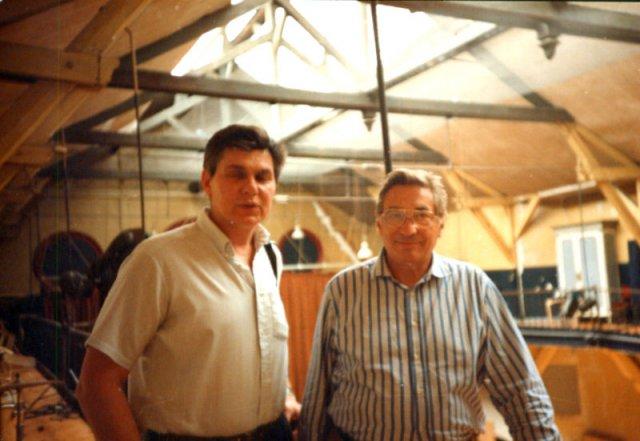 С Жаном Лекоком в его школе в Париже