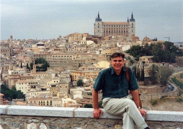 Николай Ващилин в Толедо. 1995 фото Алисы Призняковой.