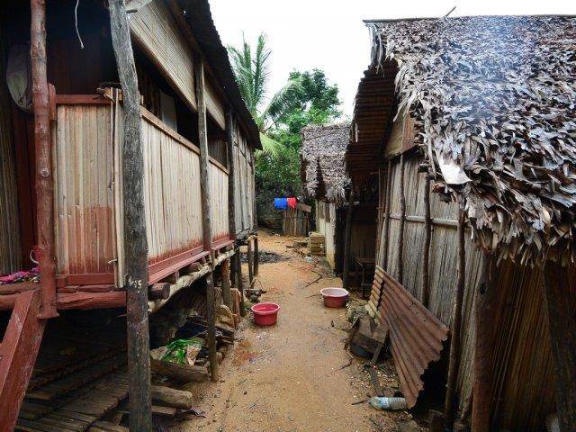 Малагасийская деревня.