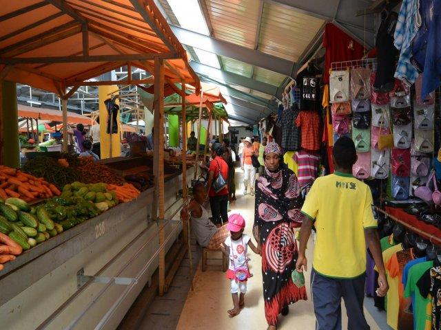 Рынок в Таматабе.
