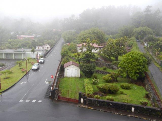 Городок в горах.