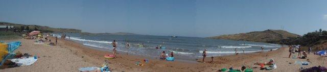 пляжи пансионат ДЕАЗ