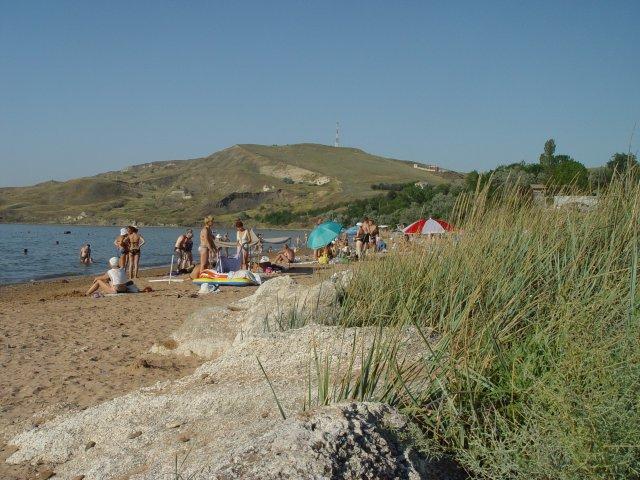 Пляжи пансионата ДЕАЗ