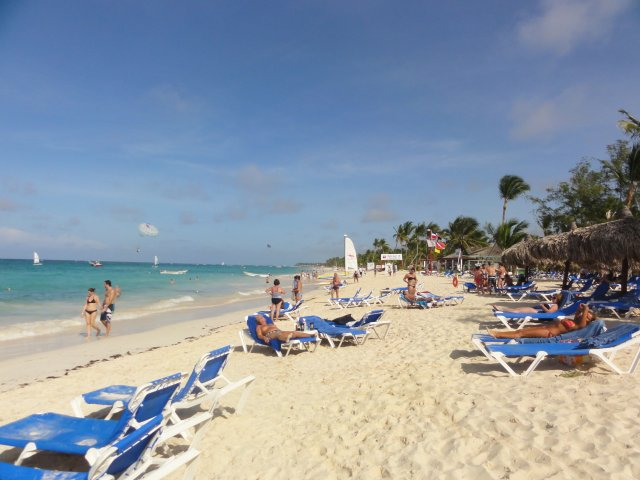 Пляж отеля Gran Bahia, Доминикана