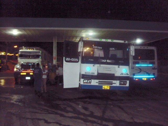 Автобус в Кайкару