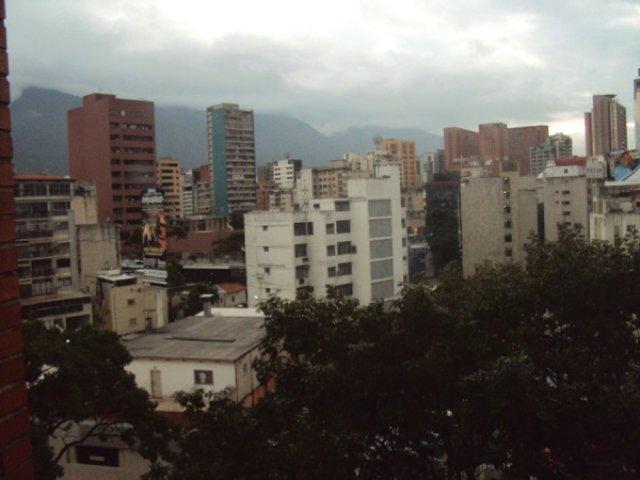 Каракас из окна отеля Габьял, Венесуэла