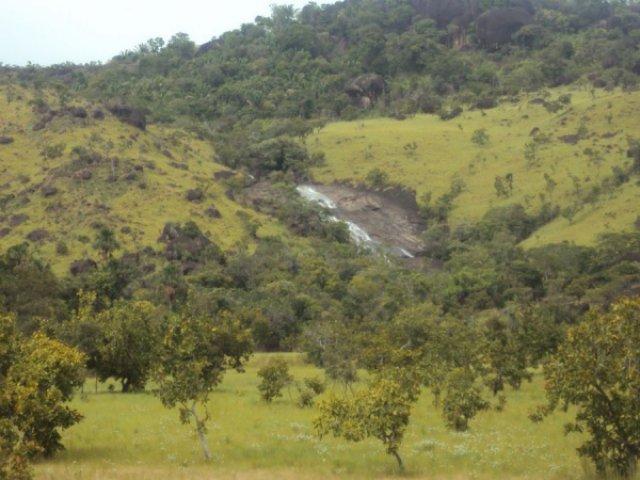 Водопад на склоне, Венесуэла